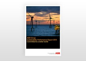 ABB sustainability report 2014 pdf cover (photo)