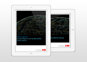 iPad App of the sustainability report 2014 (photo)
